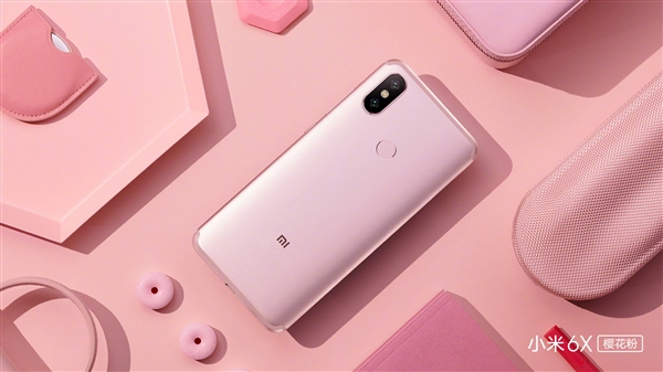 Xiaomi Mi 6X en rosa
