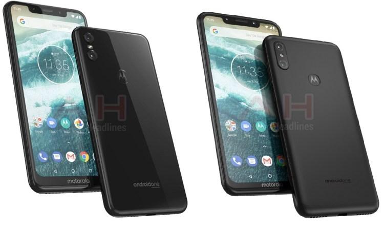 Motorola One a la izquierda, Motorola One Power a la derecha