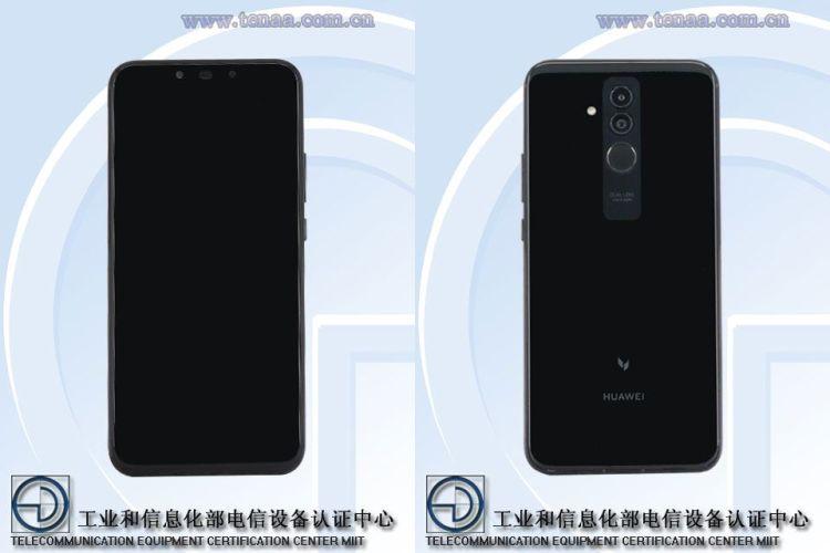 Huawei-Mate-20-Lite-TENAA-front-and-rear