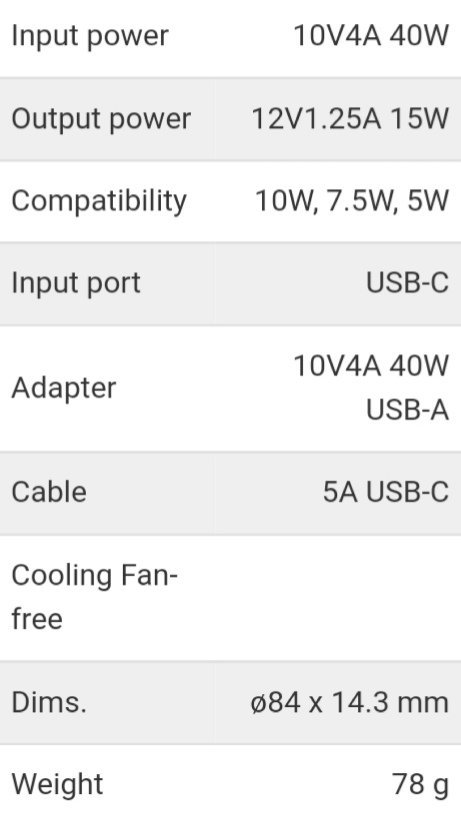 Huawei-Wireless-Charger-CP60-specs