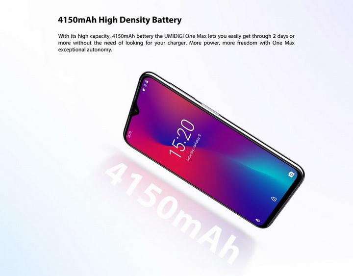 unidigi-one-max-bateria