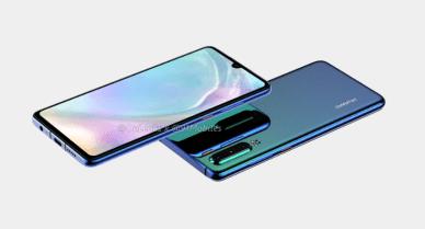 Huawei-P30-render