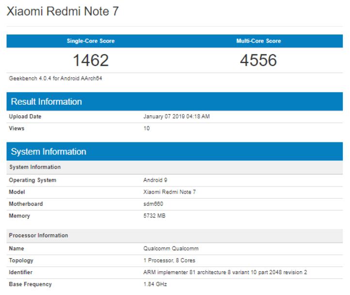 Xiaomi-Redmi-Note-7-Geekbench