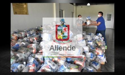 GOBIERNO ESTATAL RECONOCE LABOR DE ALCALDESA PATRICIA SALAZAR Y LE MANDA DESPENSAS PARA SUS HABITANTES, SINERGIA TOTAL