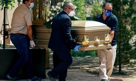 MÉXICO LLEGA CASI A LAS 67 MIL MUERTES POR COVID19