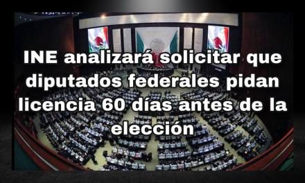 LLEVARÁN ANTE CONSEJO PROPUESTA DE LICENCIA PARA DIPUTADOS FEDERALES PREVIO A LA ELECCIÓN