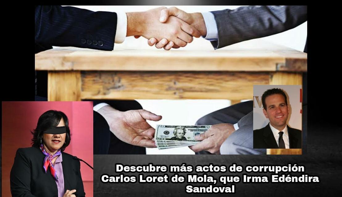 INCREÍBLE PERO CIERTO, LORET DE MOLA, HA INVESTIGADO Y DESCUBIERTO MÁS ACTOS DE CORRUPCIÓN EN GOBIERNO DE AMLO QUE LA ENCARGADA DE ESA ÁREA, IRMA ERÉNDIRA SANDOVAL DE ACKERMAN