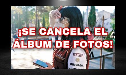 ANULAN TOMA DE FOTOGRAFÍA A VACUNADOS CONTRA COVID-19