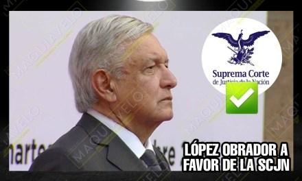 Andrés Manuel López Obrador AHORA RESULTÓ MASTER EN DERECHO; DICE QUE LO DEL PRESIDENTE DE LA SUPREMA CORTE ES CONSTITUCIONAL