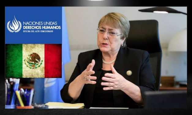 LA ONU DERECHOS HUMANOS PONE ALERTA ROJA EN MÉXICO COMO UN PAÍS VIOLENTO EN PROCESOS ELECTORALES