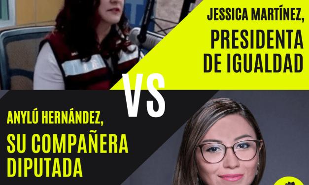 PIFIA JURÍDICA LE IMPIDE A DIPUTADA JESSICA MARTÍNEZ ¡DISIDENTE DE MORENA! TOMAR POR ASALTO COORDINACIÓN DE ESA BANCADA EN CONGRESO