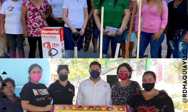 DIPUTADA CONSUELO GÁLVEZ CONTINUA PLAN DE LIMPIEZA A ESCUELAS DE ESCOBEDO