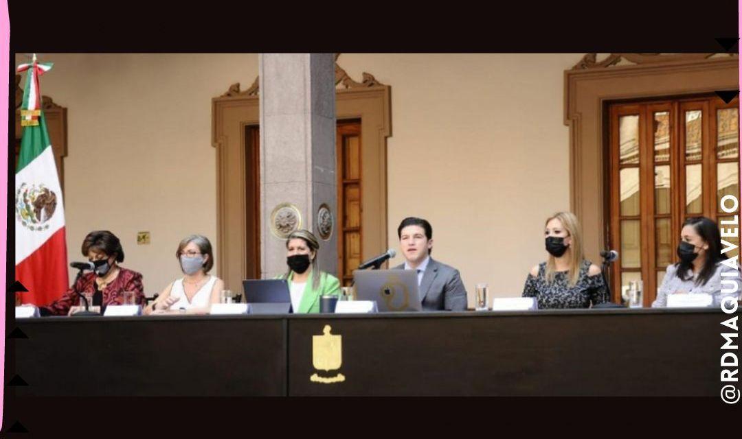 """PRESENTA GOBERNADOR GABINETE DE IGUALDAD CONFORMADO POR LAS """"CHICAS PODEROSAS"""" <br>"""