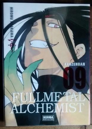 Fullmetal Alchemist Kanzeban N°9