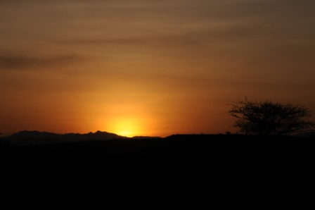 Another spectacular sunset at Nariokotome. Thanks Elliott and Robert for sharing such a special moment with me