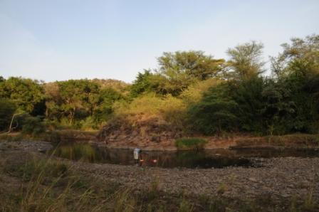 Omo river banks