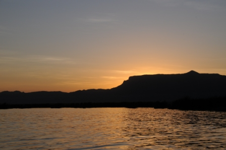 Todenyang mountains from Lake Turkana . unforgettable