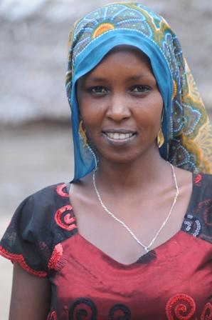 Borana woman who also works at Anidan