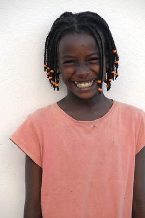 """Mary Gitau, """"my Mary"""", who is 11 and loves dancing. Her friends call her Mary Shakira"""