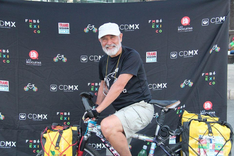 El laguense Felipe Besné es el vocero oficial del Foro Mundial de la Bicicleta