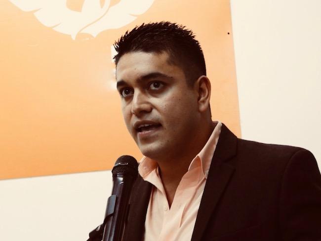 Tecutli Gómez, candidato de MC, presenta su planilla de regidores