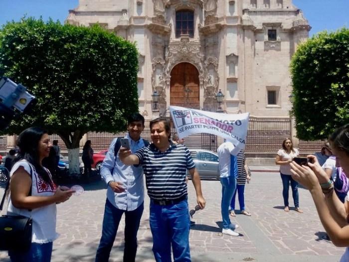 Pedro Kumamoto en Lagos de Moreno