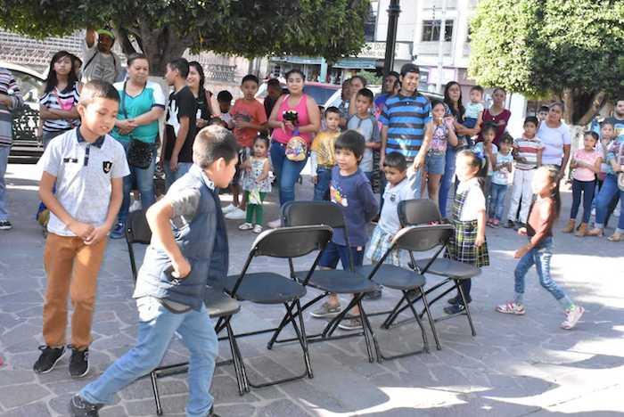Festejo del Día del Niño por el DIF de Lagos de Moreno