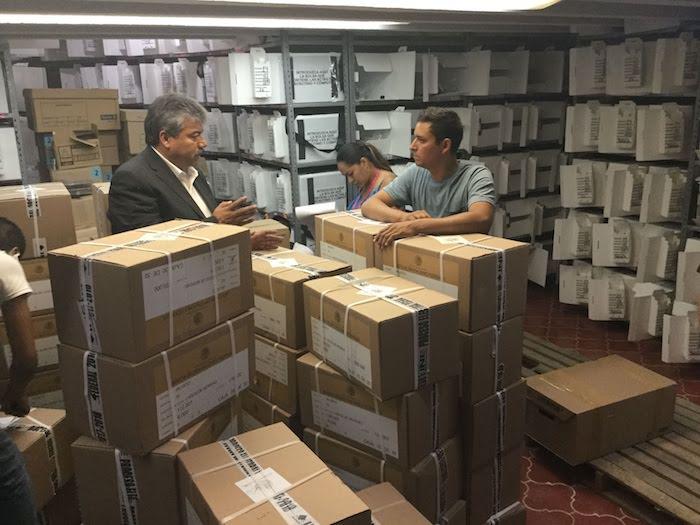 Boletas electorales en Lagos de Moreno