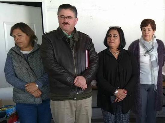 Rosa Zárate y Juan Alberto Márquez de Anda