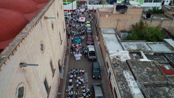 Marchan en Lagos para que no se permita la libertad de abortar