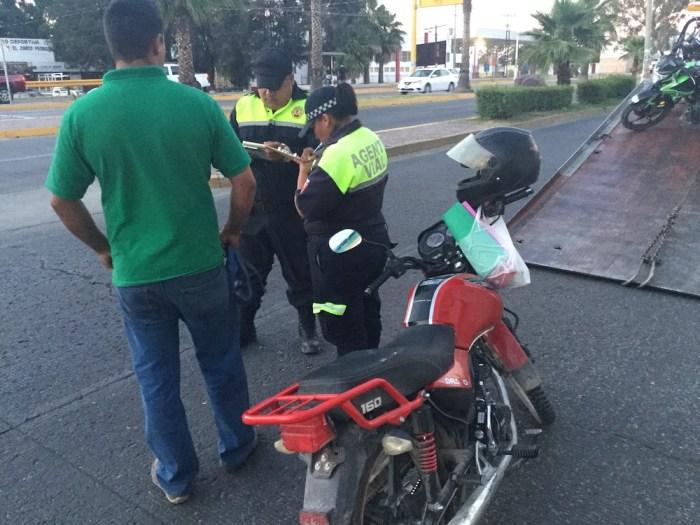 Operativo motociclistas tránsito Lagos de Moreno