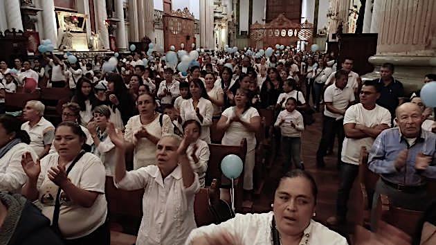 Parroquia de la Asunción en Lagos de Moreno. Misa contra el aborto