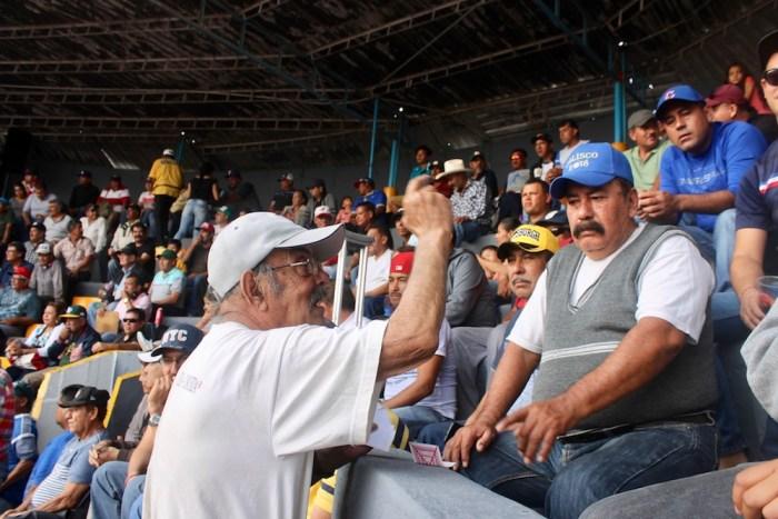 """Rubén Ramírez, """"El Cotorra"""", en el Campo Deportivo de Lagos de Moreno. Foto: Sergio Hernández Márquez"""