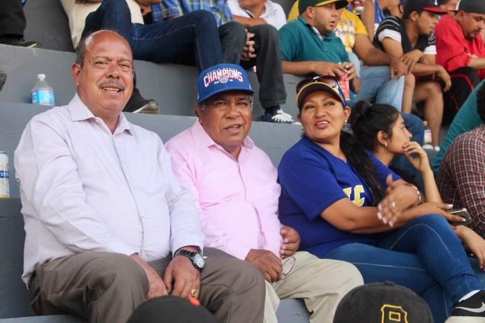 Joaquín González Buz y Eduardo Guzmán en el Campo Deportivo: Foto: Sergio Hernández Márquez