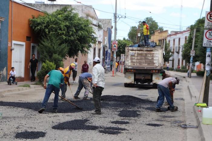 Bacheo en Lagos de Moreno