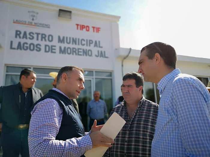 Alberto Esquer en Lagos de Moreno