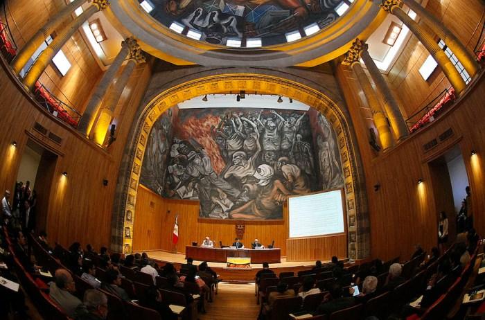 Sesión del Consejo General Universitario de la UdeG