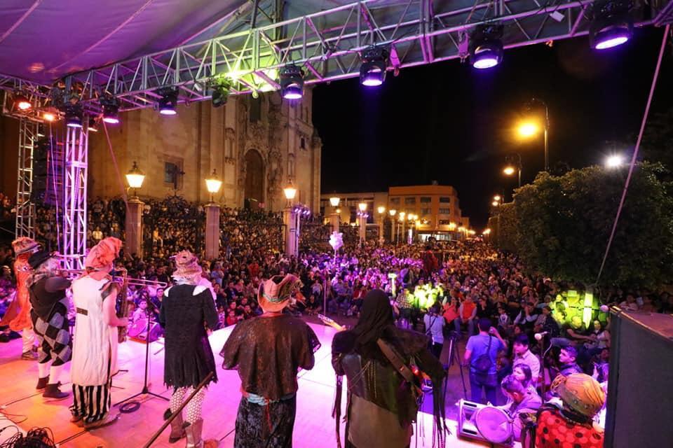 Zaikcocirco inaugura el Festival Cultural de Marzo