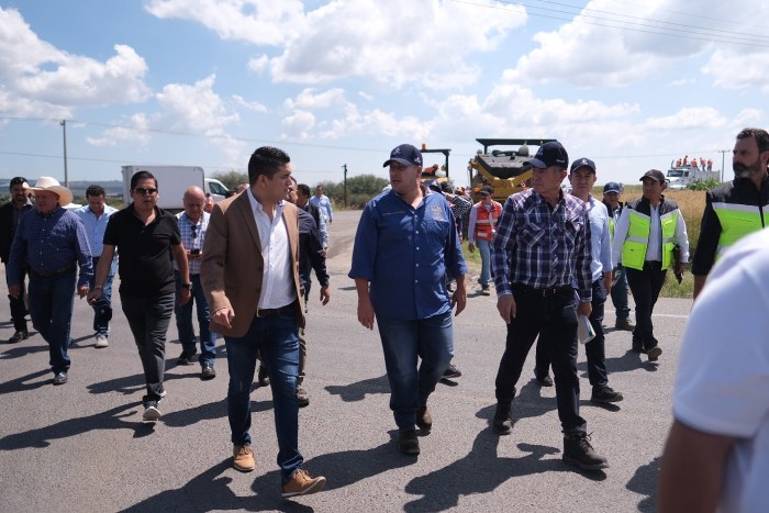 Tecutli Gómez y Enrique Alfaro en Lagos de Moreno. Foto: Gobierno de Jalisco