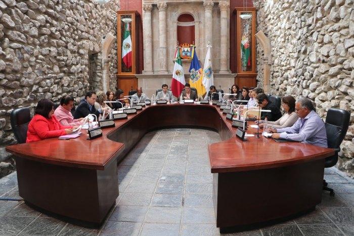 Sesión del Gobierno de Lagos de Moreno