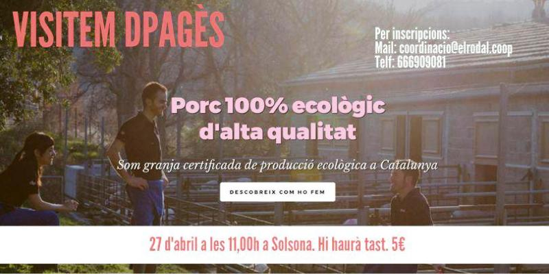 visitem dpagès (productor de porc ecològic)