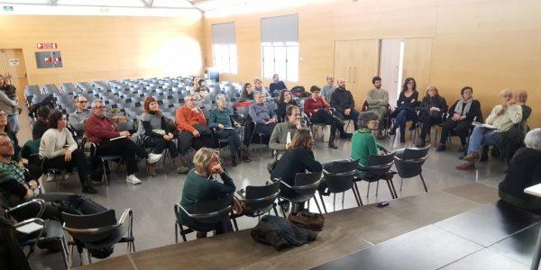 reunió informativa sobre el funcionament de la botiga agroecològica