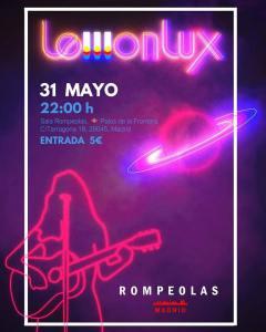 LemonLux presentan EP en Rompeolas... @ Rompeolas Locales
