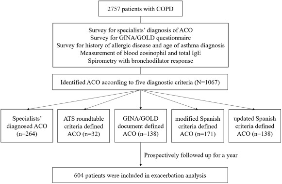 Effect Of Inhaled Corticosteroids On Exacerbation Of Asthma Copd Overlap According To Different Diagnostic Criteria The Journal Of Allergy And Clinical Immunology In Practice