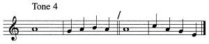 Psalm Tone 4