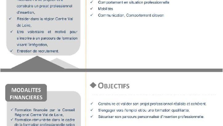 thumbnail of Via Formation_Elaborer Projet Professionnel_Blois Oct2018-2