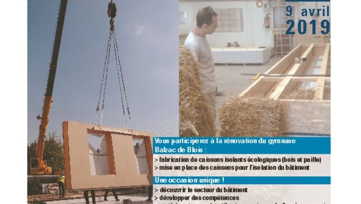 thumbnail of Chantier-formation isolation thermique – Affiche – V2