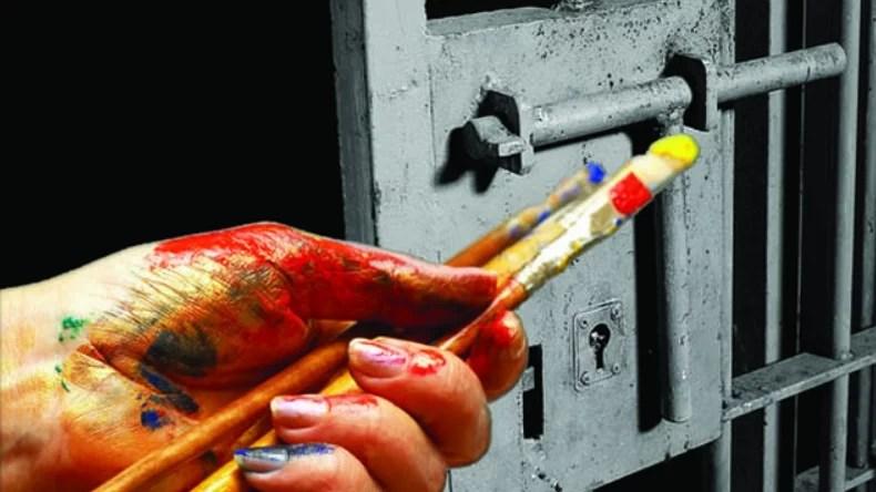 creaciones artisticas de criminales