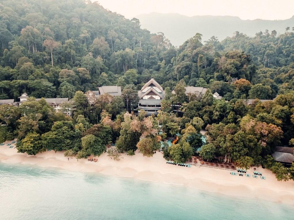 the andaman resort drone