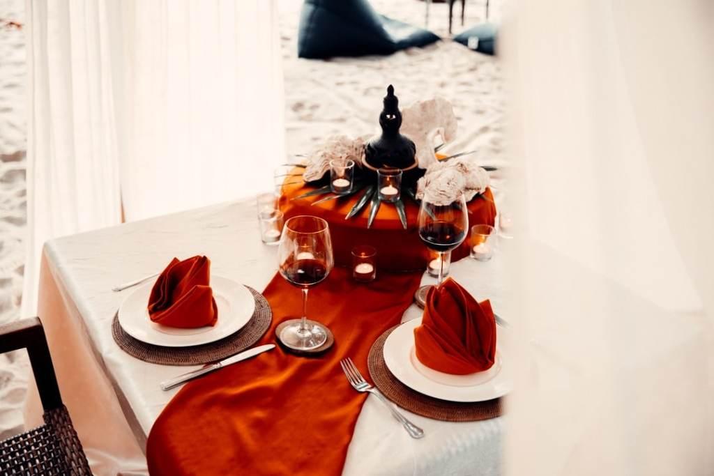 diner sur la plage langkawi